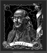 Steam Patriots includes a steampunk inventor, Benjamin Franklin